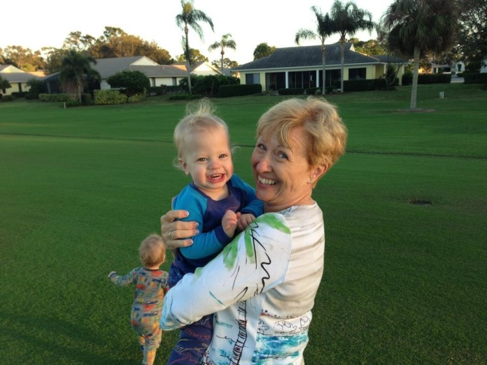 Grandma Dot and Cooper